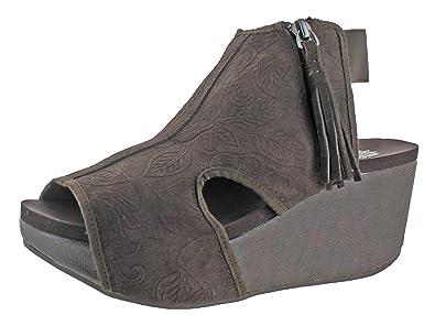 97e3f017e263 Yellow Box Sheridan Womens Sandal 7.5 B(M) US Brown