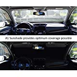 240T-Fabric A1+ Car Windshield Sunshade for Trucks SUV Mini Van Visor Front Window Auto Vehicle Shield Reflector…