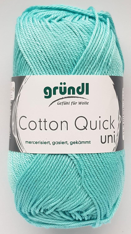 Eigenschaften  Gründl Cotton Quick Uni 50 Gramm  Material  100 Baumwolle ... f50c3e1b5e