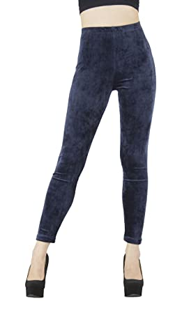 1902fa7866ed4a D&K Monarchy Women's Seamless Thick Fleece Full Length Leggings at ...