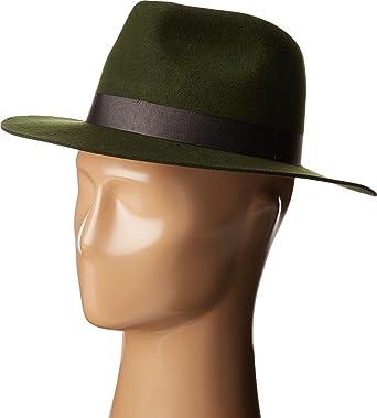 Lack of Color Women s Silent Woods Wool Felt Fedora Green MD (57cm ... 43ecaad1dba
