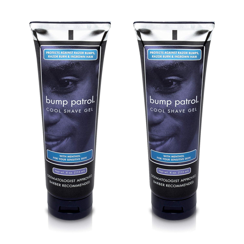 Bump Patrol Cool Shave Gel 4 Ounce Tube (Sensitive) (118ml) (6 Pack) B00OQL0JLY