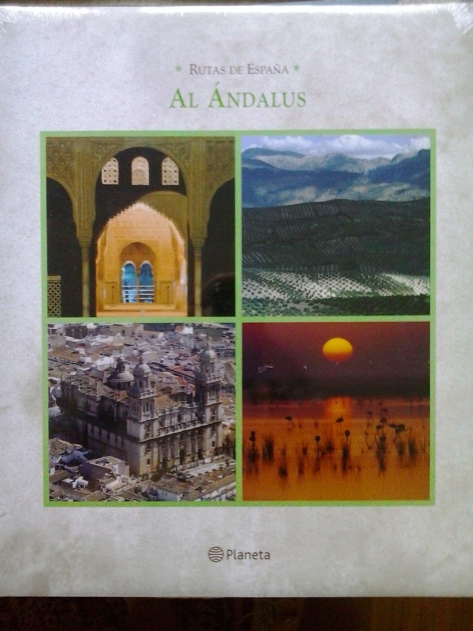 RUTAS DE ESPAÑA: AL ANDALUS: Amazon.es: AVILA GRANADOS, Jesus, Abundantes fotografias color.: Libros