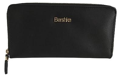 43566deebc236f Bershka , Damen Mädchen Damen-Geldbörse schwarz schwarz One Size ...