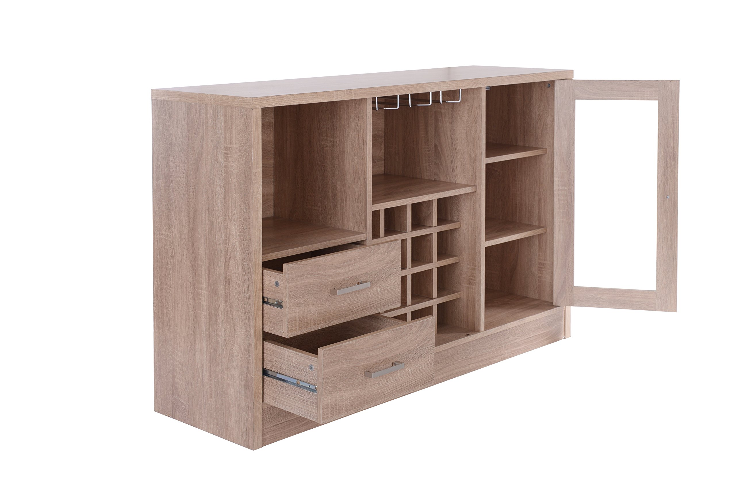 Acme Furniture 72635 Joice Rustic Oak Server by Acme Furniture (Image #5)