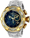 Invicta Men's 'Bolt' Quartz Stainless Steel Casual Watch, Color:Silver-Toned (Model: 22967)