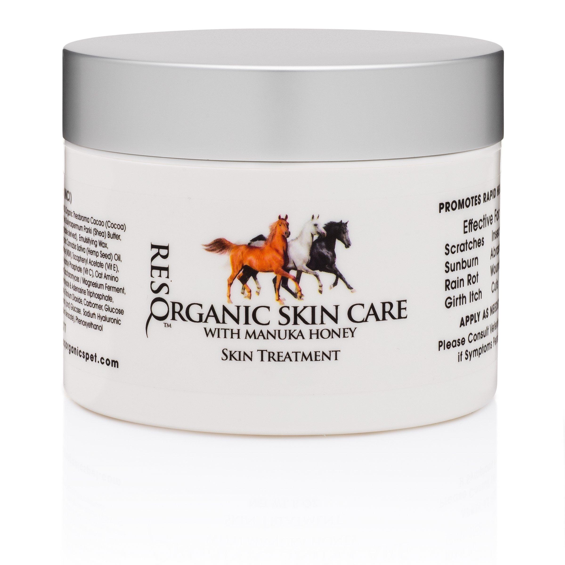 ResQ Organics Horse Skin Treatment Cream (8oz)