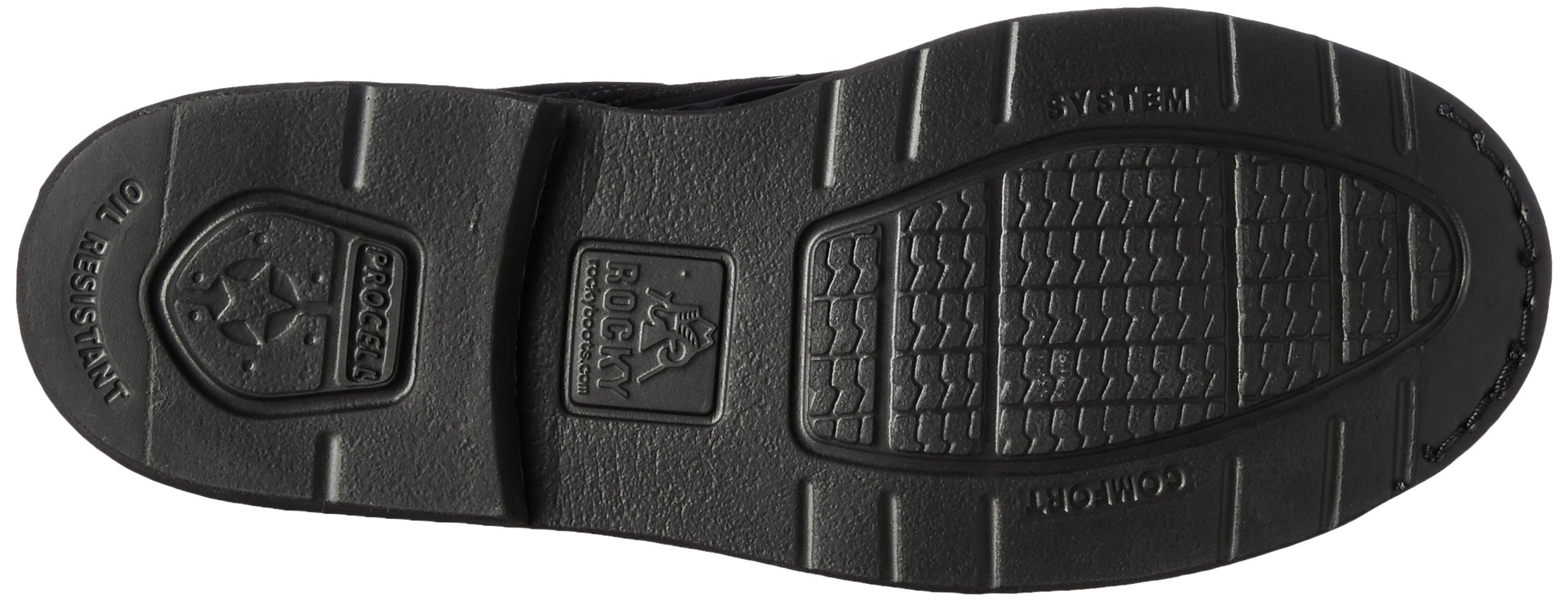 Rocky Men's 6 Inch Professional Dress 500-8 Work Boot,Black,10 XW US by Rocky (Image #3)