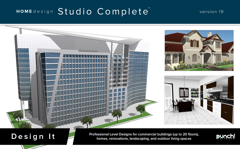 Punch Home Design Studio Complete For Mac V19 Download Software Computer Software Multimedia
