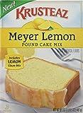 Krusteaz, Meyer Lemon Pound Cake Mix, 16.5oz Box (Pack of 2)