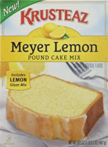 Krusteaz Meyer Lemon Pound Cake, 16.5 OZ