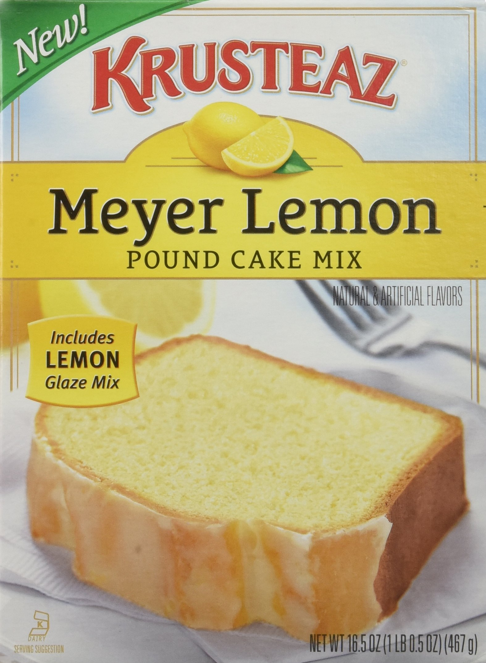 Krusteaz Lemon Pound Cake Mix