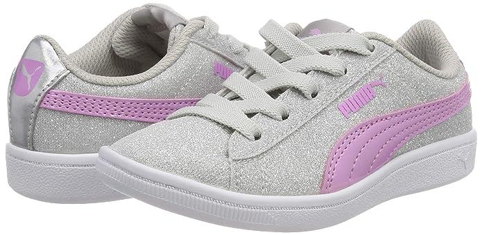 Puma Vikky Glitz AC PS, Sneakers Basses Fille