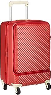 f81471d54d [ハント] スーツケース等 マイン ストッパー付き ジッパータイプ 48cm 33L 機内持込みサイズ