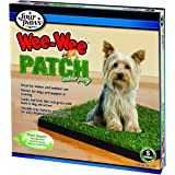 Four Paws Wee-Wee Patch Small Indoor Potty Dog Housebreaking Tray