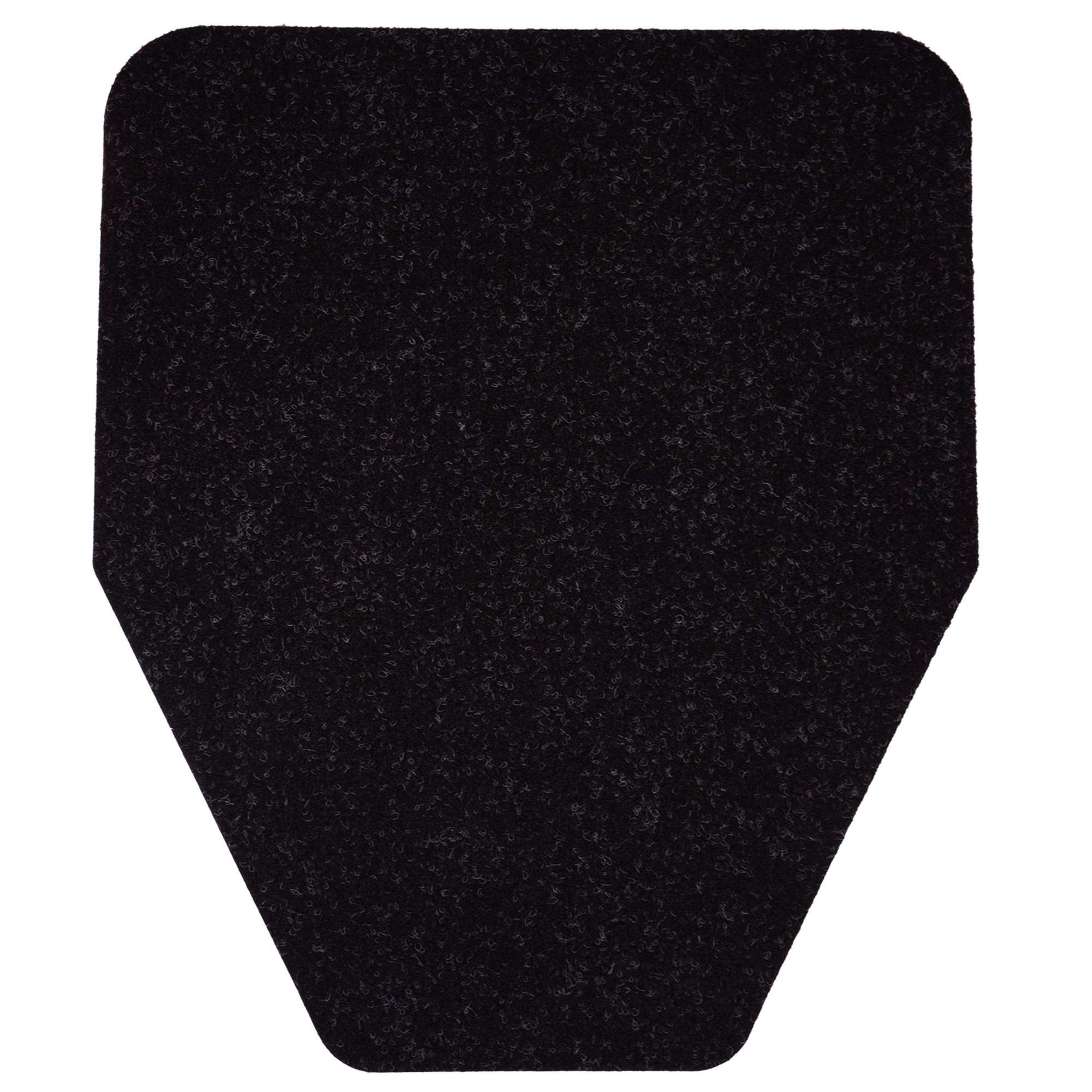 Urinal Mat (6-Pack) Antimicrobial, Non-Slip, Odor-Eliminating Disposable Mats (Black)