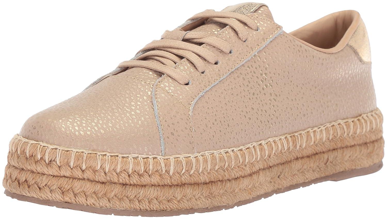 KAANAS Women's Arizona Leather Espadrille Platform Lace-up Sneaker B076FLW55G 7 B(M) US Cappuccino