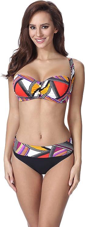 Merry Style Bikini Push Up Maillot de Bain 2 Pi/èces Ensemble Tops Soutien-Gorge et Culotte V/êtement /Ét/é Femme F13