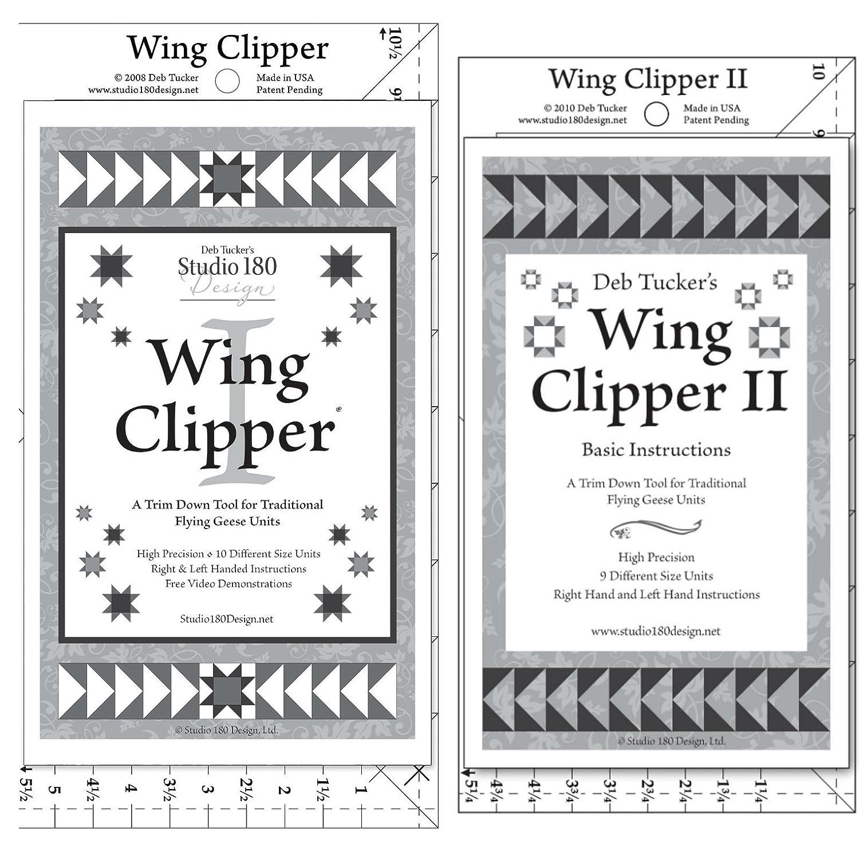 Studio 180 Design Wing Clipper 1 /& Wing Clipper 2