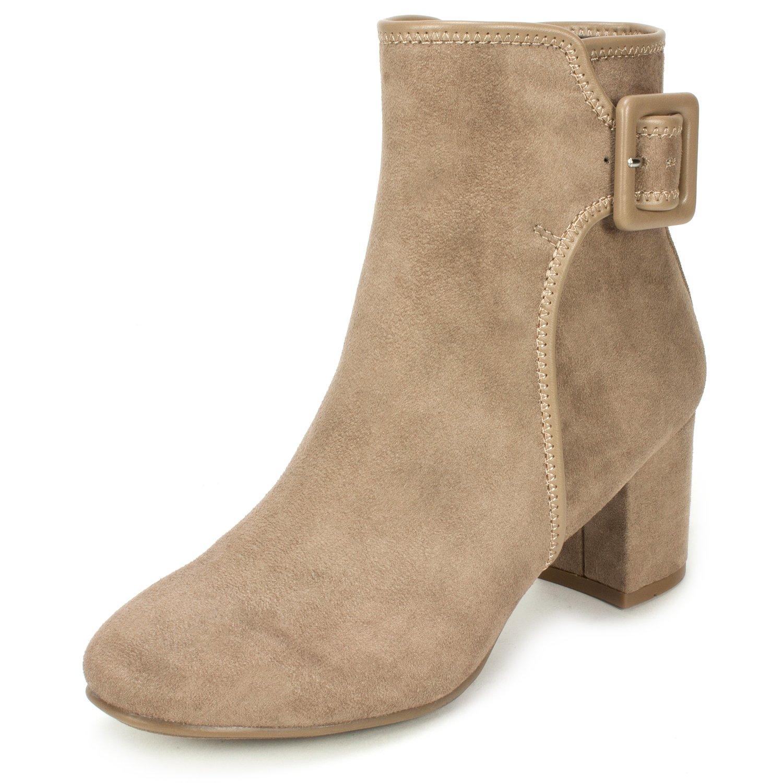WHITE MOUNTAIN Women's Callaway Ankle Bootie B0753KQ4WR 6.5 B(M) US|Desert