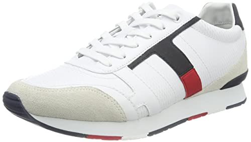 Tommy Hilfiger L2285eeds 2c1, Sneakers Basses Homme, Blanc