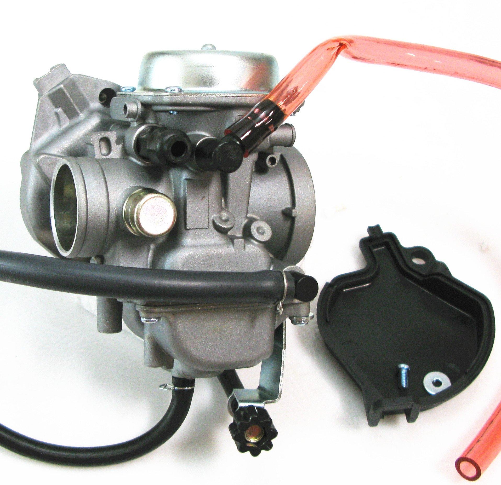 Carburetor for Kawasaki Lakota 300 KEF300B Sport KEF300A 1995-2003 by Motor Buddies (Image #2)