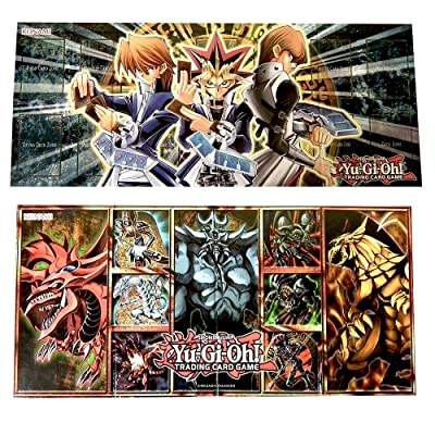 YuGiOh Legendary Collection 1 God Set Double Sided Game Board: Toys & Games