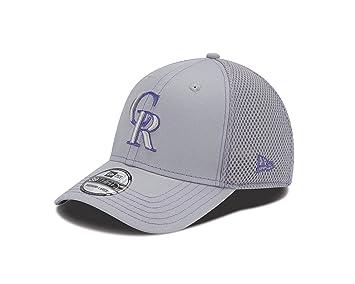best loved 6ec30 c1726 COLORADO ROCKIES GRAY NEO 3930 Cap-ML, Baseball Caps - Amazon Canada