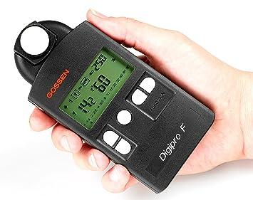 Digitaler Entfernungsmesser Rätsel : Gossen digipro f digitaler belichtungsmesser für: amazon.de: kamera