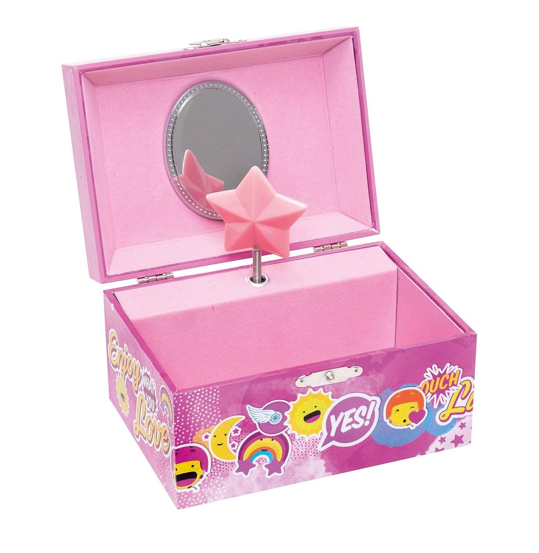 Soy Luna Soy Joyero Musical en Caja, Color Acetato, Unica (Kids Euroswan WD18017): Amazon.es: Juguetes y juegos