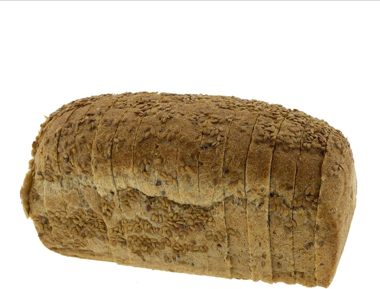 Biopanadería Pan de Molde de Espelta Integral con Linaza y Masa Madre Natural cortado en rebanadas Ecológico Artesano: Amazon.es: Alimentación y bebidas