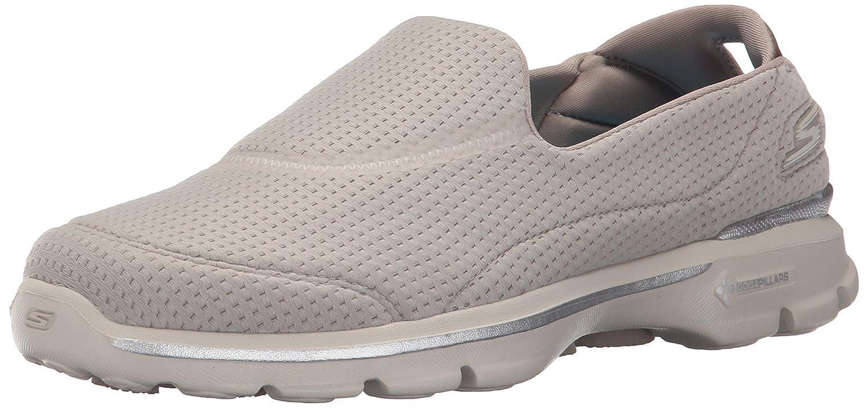 Skechers Performance Womens Go Walk 3 Unfold Walking Shoe B011PPWHZE 5.5 B(M) US|Taupe