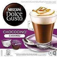 NESCAFÉ Dolce Gusto Café Chococino Caramel, Pack de 3 x 16 Cápsulas - Total: