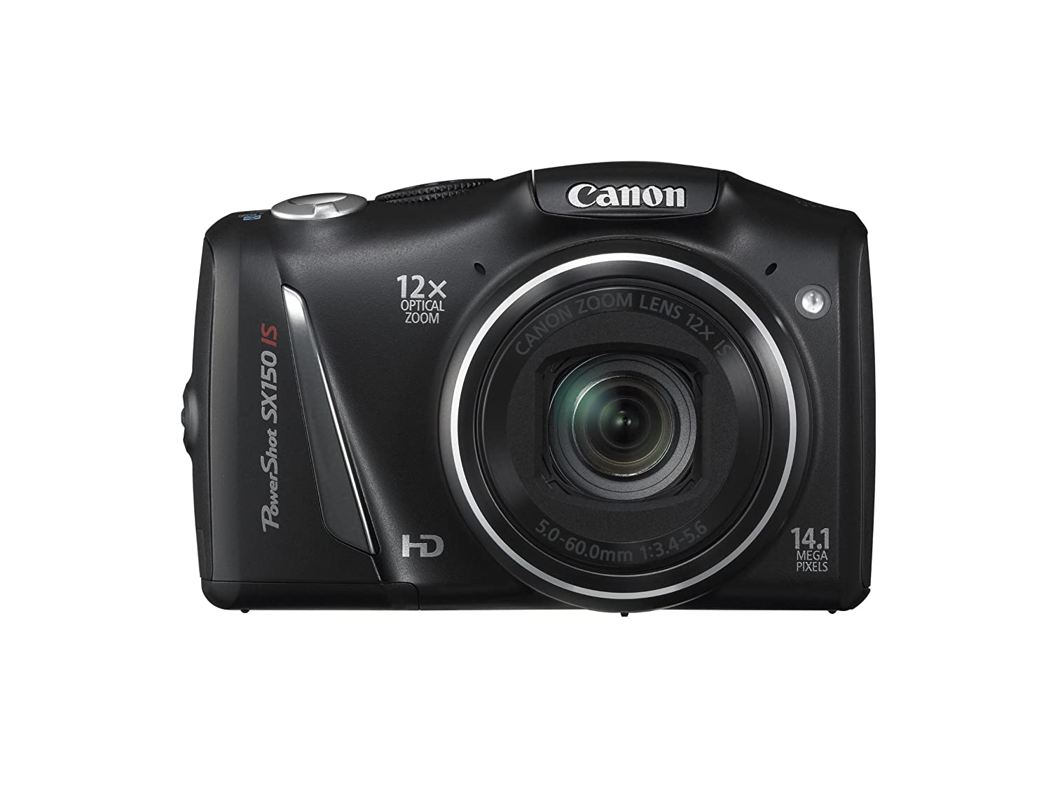 Amazon.com : Canon PowerShot SX150 IS 14.1 MP Digital Camera with 12x  Wide-Angle Optical Image Stabilized Zoom with 3.0-Inch LCD (Black) (OLD  MODEL) : Point ...
