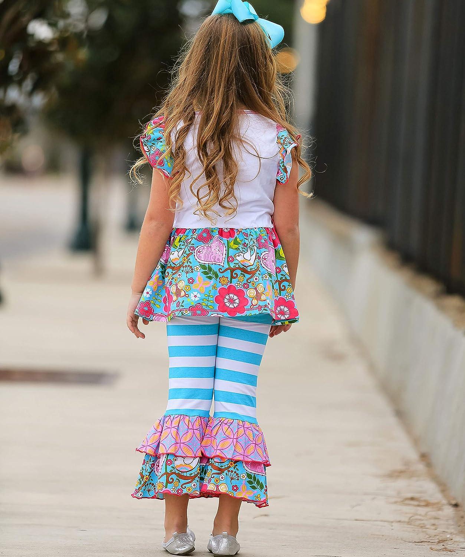 AnnLoren Girls Hearts Love Dove Boutique Outfit