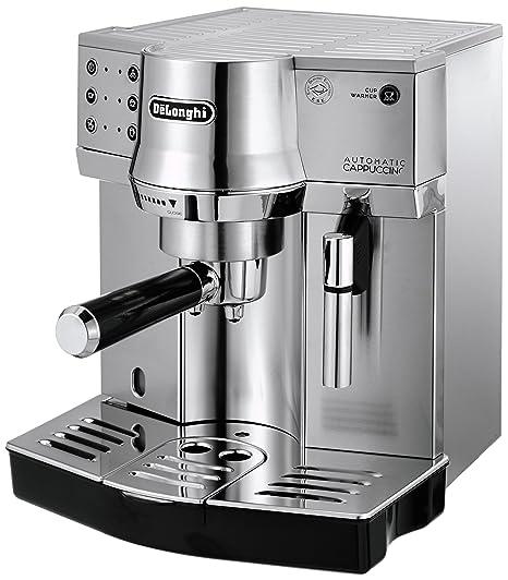 DeLonghi EC 860.M - Máquina espresso, independiente, 1450 W, 1 L, acero inoxidable, plata