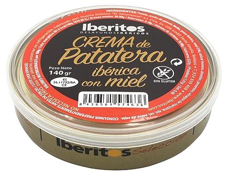 Iberitos Crema de Patatera con Miel - Paquete de 10 x 140 gr - Total: