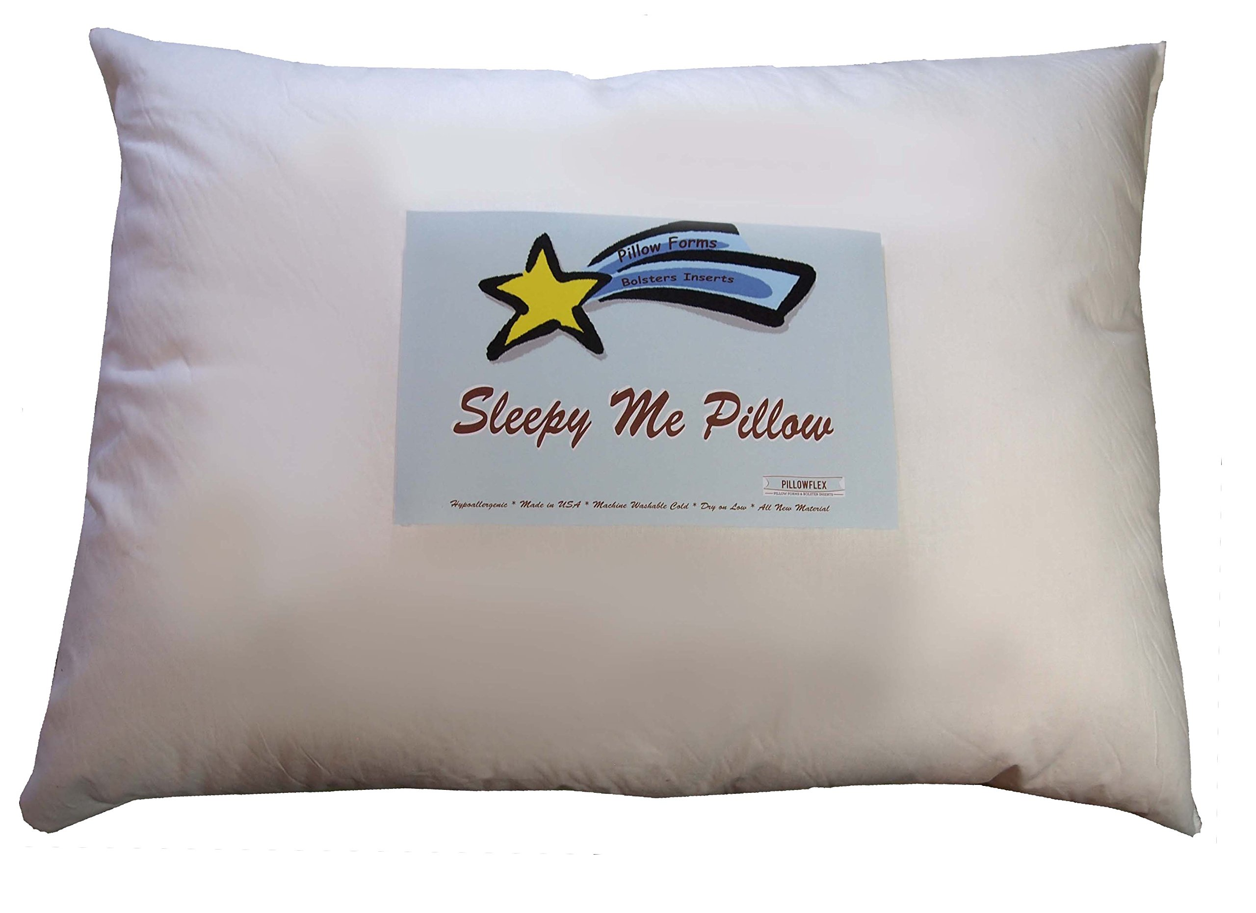 Sleepy Me 18 x 24 Inch Kids Pillow – Comfy Soft Synthetic Faux Down Alternative Allergy Free Hypoallergenic