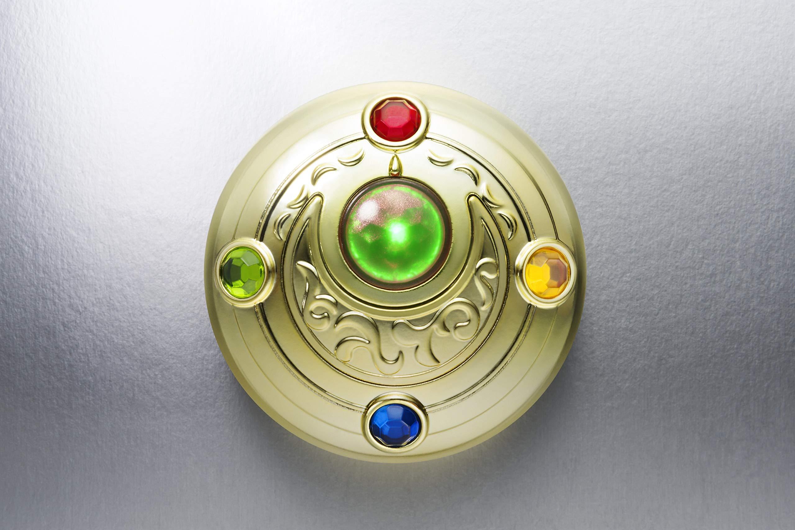 Bandai Tamashii Nations Proplica Transformation Brooch & Disguise Pen Set ''Sailor Moon'' Statue by Tamashii Nations (Image #12)