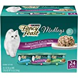 Purina Fancy Feast Gravy Wet Cat Food Variety Pack, Medleys Florentine Collection - 3 oz. Cans ( Pack of 24)