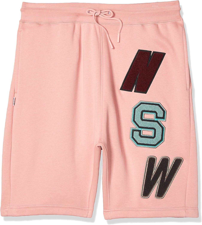 Nike M NSW NSW Short Flc – Shorts, Men, PINK (Rust Pink