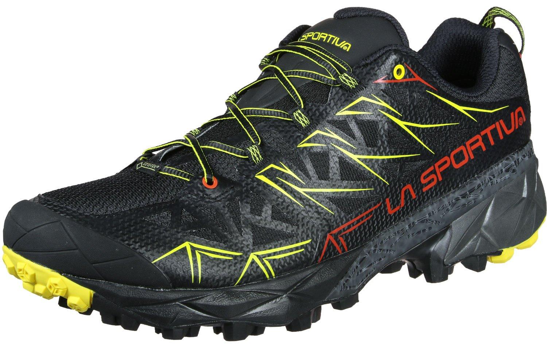 La Sportiva Akyra GTX, Zapatillas de Trail Running para Hombre 41 EU|Negro (Negro 000)