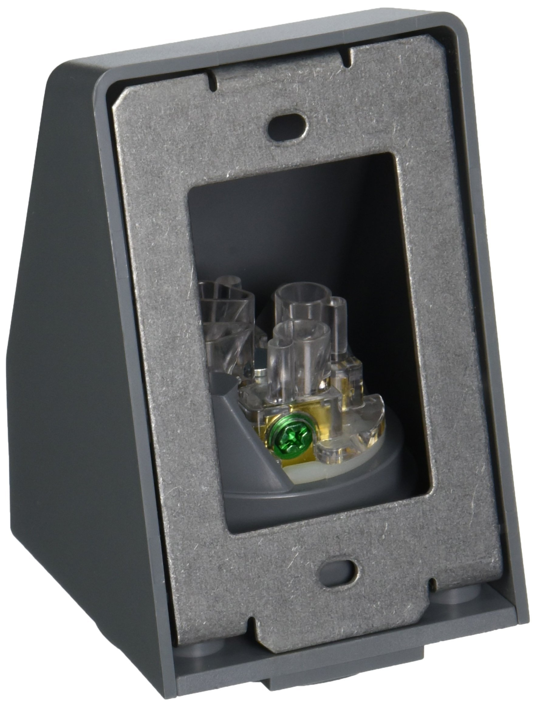 Hubbell HBL2430AR Locking Safety Shroud Receptacle, L16-20R, Angled Surface Mount