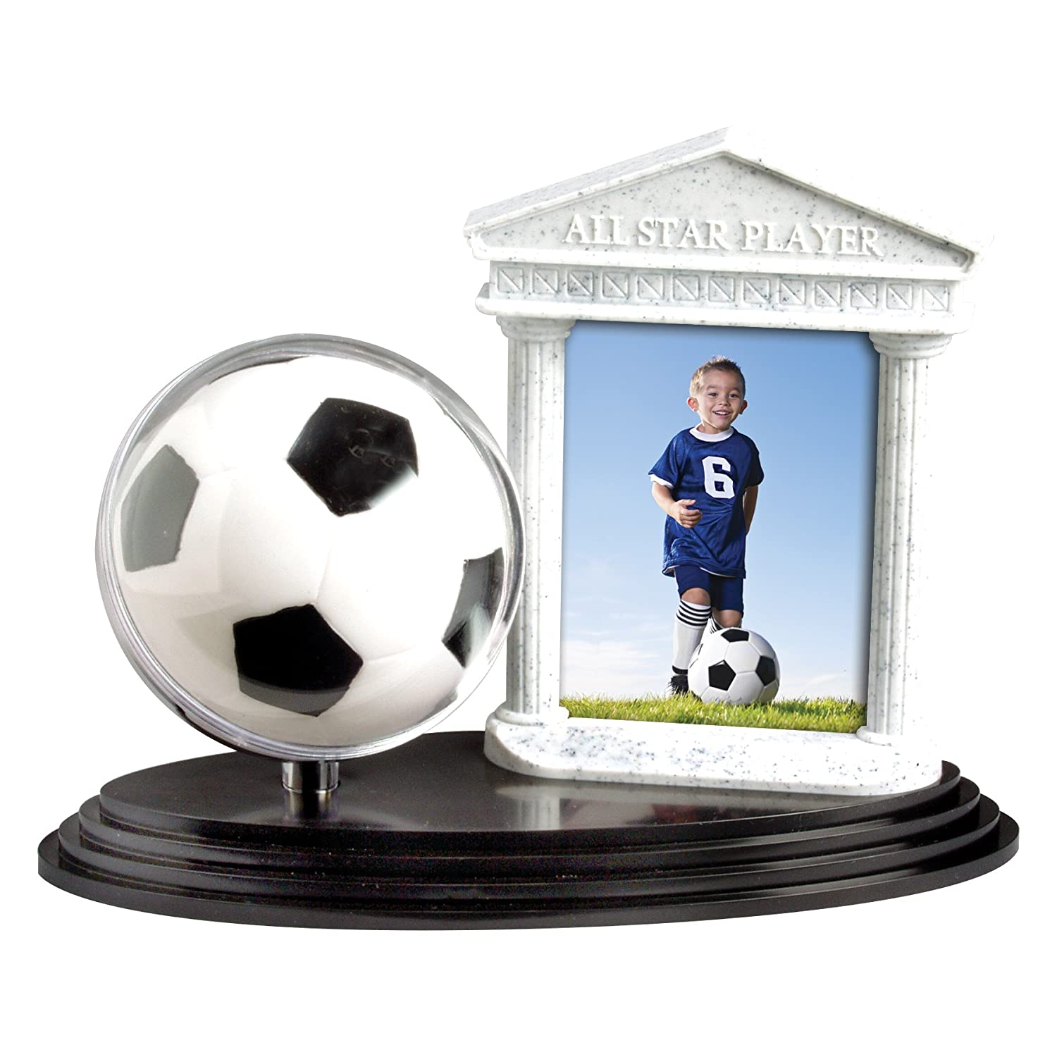 Amazon soccer ball trophy picture frame jeuxipadfo Images