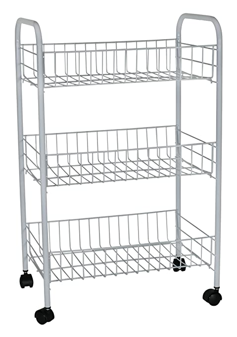 Rubbermaid 3 Tier Wheeled Storage Cart (82000)