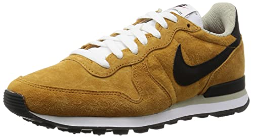 cheap for discount 084ee be768 Nike Men s Internationalist Leather Running Shoe BRONZE BEIGE CHALK WHITE  BLACK 6.5 D(M) US  Buy Online at Low Prices in India - Amazon.in