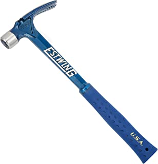 product image for Estwing Ultra Series Hammer - 15 oz Rip Claw Framer with Milled Face & Shock Reduction Grip - E6-15SM
