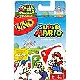 UNO Cartas Super Mario Bros Juego de Cartas para Jugar con Familia y Amigos para niños de 7 años en adelante