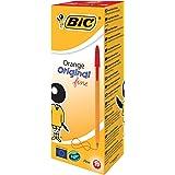 BIC Orange Original Fine Ballpoint Pen - Red, Pack of 20