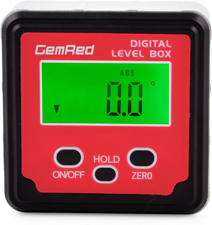Digital Level Saw Angle Finder Inclinometer Bevel Magnetic Degrees blades slope